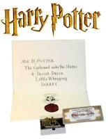 Harry Potter School Acceptance Letter Hogwarts Tickets Pendant Necklace 10