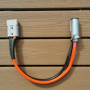 Piper Plug with Wire Lead and 175 Amp Connector (Grey by default, can be Red)