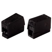 WAGO 224-114 2 Way Standard Lighting Connector 24A Black