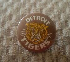 VINTAGE 1950s DETROIT TIGERS   1 1/4 STICK PIN  BUTTON.