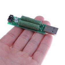 USB Mini-Entladeschnittstelle Lastwiderstand mit Schalter 2A 1A GAB