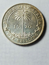 British West Africa 1920 Silver Shilling