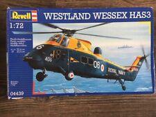 Revell Germany 1/72 Westland Wessex HAS.3 (04439) + Cobra CC72004 resin details