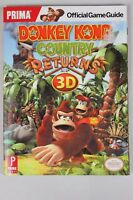 Donkey Kong Country Returns 3D Strategy Guide Game Book PrimaGames