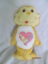 Care Bear Heart Monkey mas from a fabric panel soft