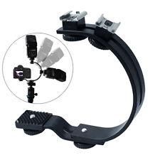 C-Shaped Metal Stabilizing Bracket Handle Grip Handheld Mount for DSLR Camera