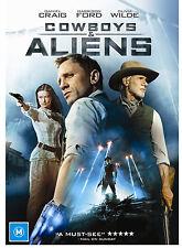 Cowboys & Aliens DVD Movie BRAND NEW SEALED Daniel Craig Harrison Ford R4