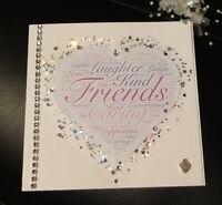 Bride to Be-Beautiful Hand Made Card / Keepsake - Friends