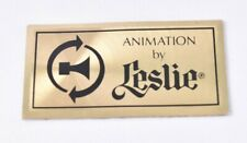 Leslie Speaker Logo Tag from Vintage Hammond Organ Animation by Leslie