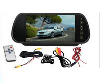 Telecamera di parcheggio per specchietto retrovisore HD da 7 pollici per auto