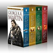 George R.R. Martin's A Song of Ice and Fire A Game of Thrones Box Set NEW SEALED