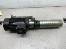 USED GRUNDFOS SPK4-8/8 A-W-A-AUUV PUMP E3HZ05268P10737 WITH MOTOR
