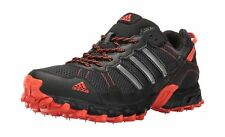 adidas Men's Rockadia Trail m Running Shoe Black/Black/Energy 11 D(M) US