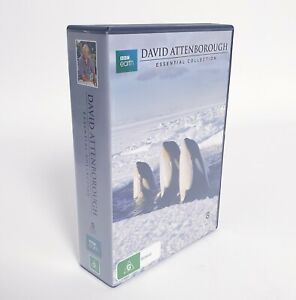 David Attenborough BBC Earth Essential Collection DVD Set Region 4 AUS Free Post