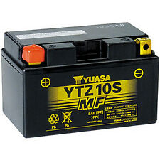 New 12V9AH 190CCA YUASA Motorcycle Battery YTZ10S