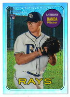 ANTHONY BANDA RC 2018 TOPPS HERITAGE HIGH NUMBER CHROME REFRACTOR #/569 THC-714