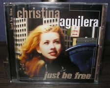 CHRISTINA AGUILERA JUST BE FREE GERMANY CD PRESSING MOVIE IT BELIEVEME THE VOICE