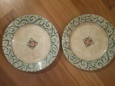 "Corelle Watercolors 8.5"" Salad/Luncheon Plate - Set of 2"