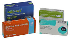 10mg Cetirizine hay fever, Allergy Relief (12 x 30 = 360) Antihistamine Tablets