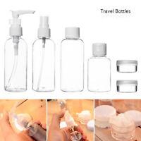 9x 100ml bouteilles en plastique pour les voyages les vacances de vol L7