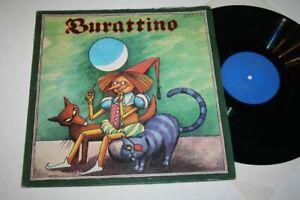 """BURATTINO angeregt durch """"Das goldene Schlüsselchen"""" Vinyl 12"""" LP LITERA"""