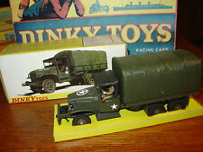 Dinky #809 GMC US Army 6X6 Truck - Mint in Box!!! Reduced Price!!!