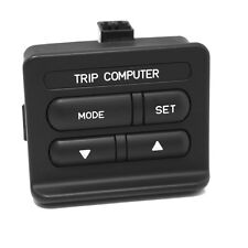 Holden VR VS Caprice Statesman Trip Computer Switch Black Genuine Used 92053374