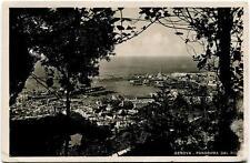 1941 Genova - Panorama, vista porto Visitate l'Italia - FP B/N VG