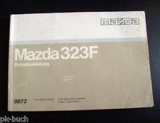 Betriebsanleitung Mazda 323 F Stand 1991