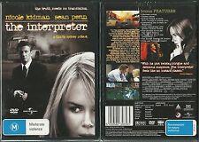 THE INTERPRETER NICOLE KIDMAN SEAN PENN NEW SYDNEY POLLACK DVD