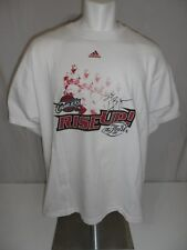 LEBRON JAMES Used 2007 Adidas Rise Up! Finals Cleveland Screened T-Shirt 2XL