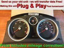 Vauxhall Opel Astra H Cluster 13225976 ZP cadrans * Plug & Play * (Gratuit Programmation)