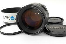 Minolta AF 85mm F/1.4 G Prime Lens for Sony A w/Hood Excellent++++ Tested #5427