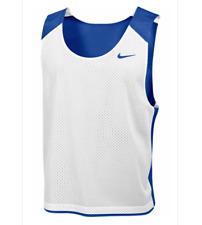 Nike Reversible Training Mesh Lacrosse Tank Men's L/Xl Baby Blue / White 707064