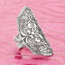 RARE SIZE 9 Silpada Ring R2809 HELEN OF TROY Shield Oxidized Sterling Silver HTF