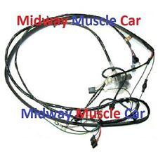 front end headlight lamp wiring harness Chevy pickup truck blazer suburban 67-72