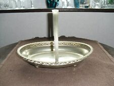 Vintage D & P (Davies & Powers) Birmingham EPNS Tray/Bowl with Handle c1930-60s
