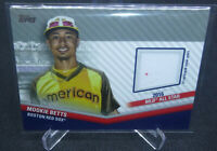 2020 Topps Update Mookie Betts 2016 All Star Game Jersey Relic Card #ASSC-MBE