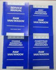 2002 DODGE RAM VAN WAGON SERVICE SHOP REPAIR & DIAGNOSTIC MANUAL SET