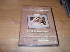 Focus On Marriage Seeing Your Marriage Through The Eyes of God Simulcast DVD NEW