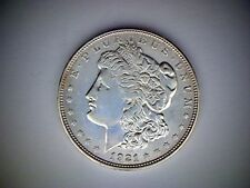 1921-D  MORGAN SILVER DOLLAR, OLD UNITED STATES DOLLAR COIN, .77344 OUNCE SILVER