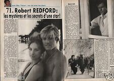 Coupure de presse Clipping 1990 Robert Redford   (4 pages)
