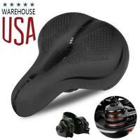 MTB Extra Wide Comfort Sponge Bicycle Seat Soft Padded Mountain road Bike Saddle