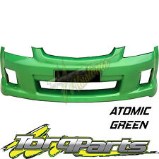 REPLACEMENT FRONT BUMPER ATOMIC GREEN SUIT VE COMMODORE SS SV6 S1 BAR COVER