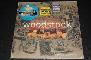 Woodstock 4 CD Box Set New Sealed The Band Who Jimi Hendrix Mountain Creedence