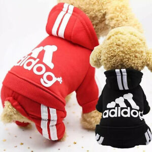 Pet Dog Puppy Clothes Jumper Cotton Hooded Sweatshirt For Small Medium Dogs Hot