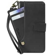 Black PU Leather Wallet Phone Cover Credit Card Case for Samsung Galaxy Note 9