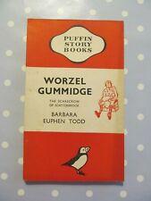 WORZEL GUMMIDGE BY BARBARA EUPHEN TODD EARLY VINTAGE PUFFIN PAPERBACK DATED 1942