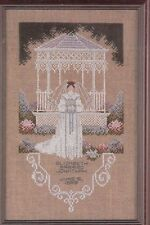 Victorian Bride counted Cross Stitch KIT Told in a Garden sealed