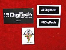 Digitech 3 Sticker Set & Tattoo......